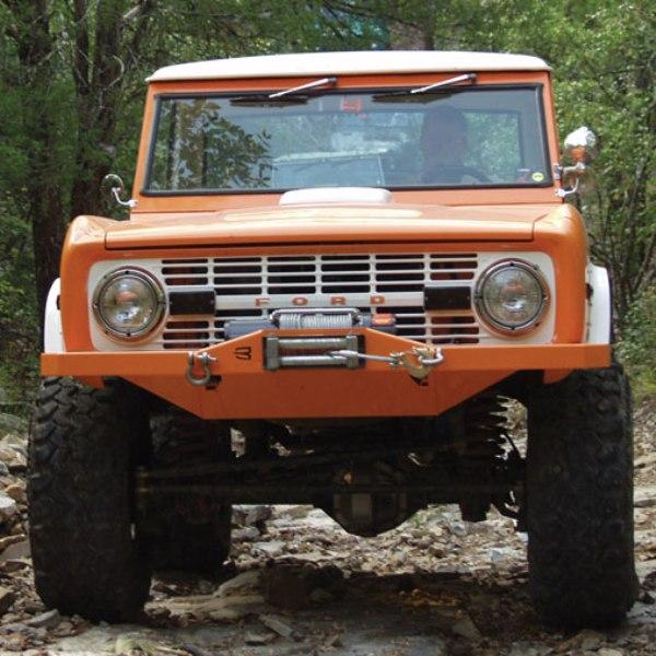 Bobcat Front Modular Winch Bumper