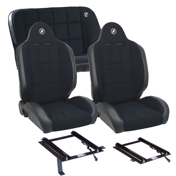Corbeau Baja RS Bronco Seat Package with Brackets
