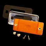 70-77 Amber Side Marker & Chrome Bezel Kit