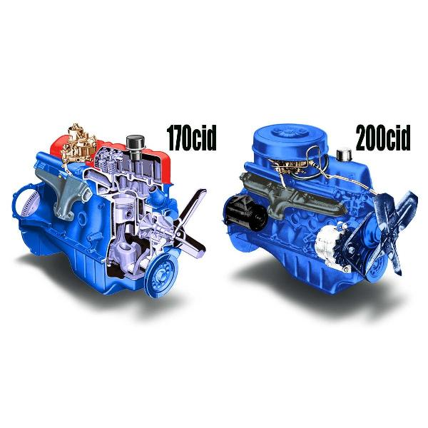 Popup on Ford 170 6 Cylinder Engine