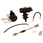 Brand Spanking New 4 Bolt Quick Ratio Steering System Deluxe