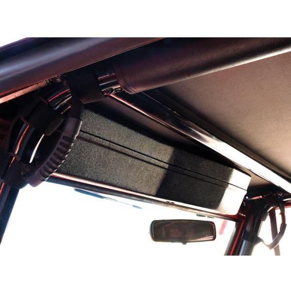 Soft Top  Wiper Motor Cover Black