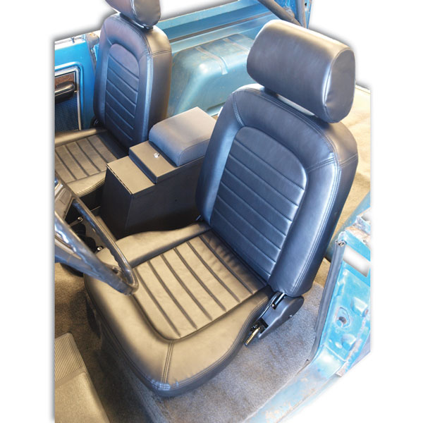 Buy Procar Classic Seats Pair Black Vinyl With Sliders