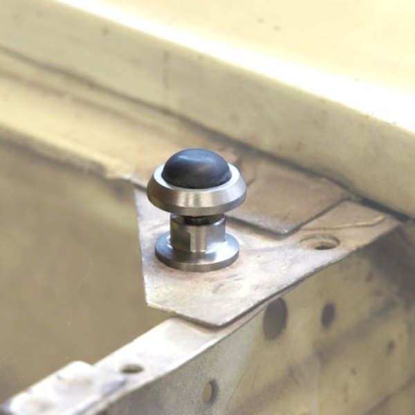 Stainless Hood Front Bumpers (Pair)