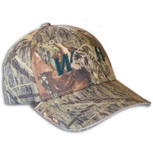 Camo WH Logo Hat