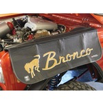 Bronco Script Fender Cover