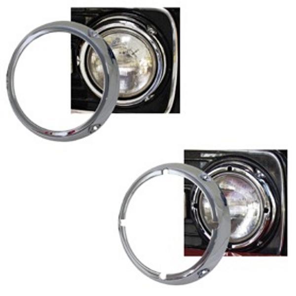 Chrome Headlight Ring PAIR