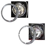 Chrome Headlight Ring PAIR