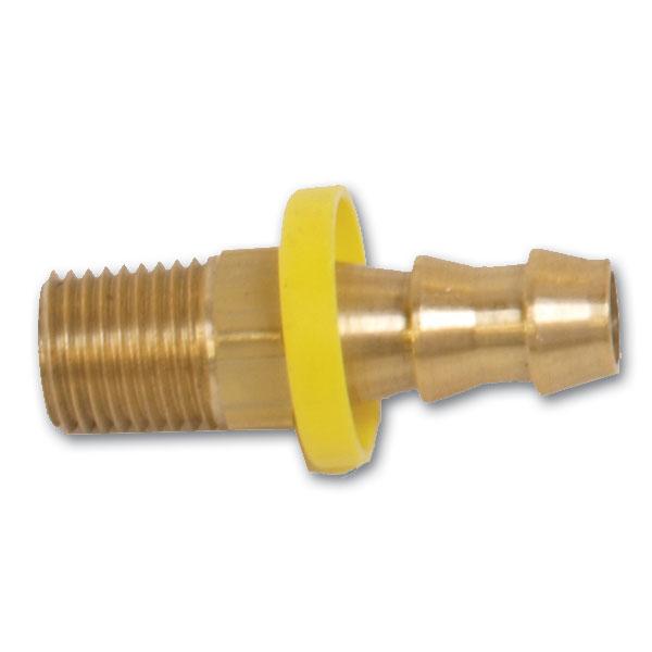 Brass Fitting 3/8 NPT x 3/8 BARB