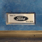 66-67 Ford Emblem Above Driver Side Rocker Panel