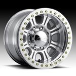 Raceline Monster Beadlock Aluminum Wheel w/ Alum Outer Ring