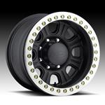 Raceline Monster Beadlock Black Wheel  w/ Alum Outer Ring