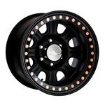 Raceline Monster Beadlock Black Wheel  w/ Black Outer Ring