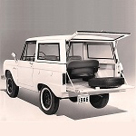 Bronco Bench Seat Publicity Release 1965-8-17