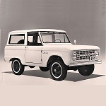 Bronco Maneuverability Publicity Release 1965-8-17