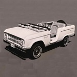 Bronco Roadster Model Publicity Release 1965-8-11