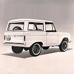 Bronco Station Wagon Publicity Release 1965-8-17