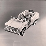 Bronco Roadster Publicity Release 1965-8-17