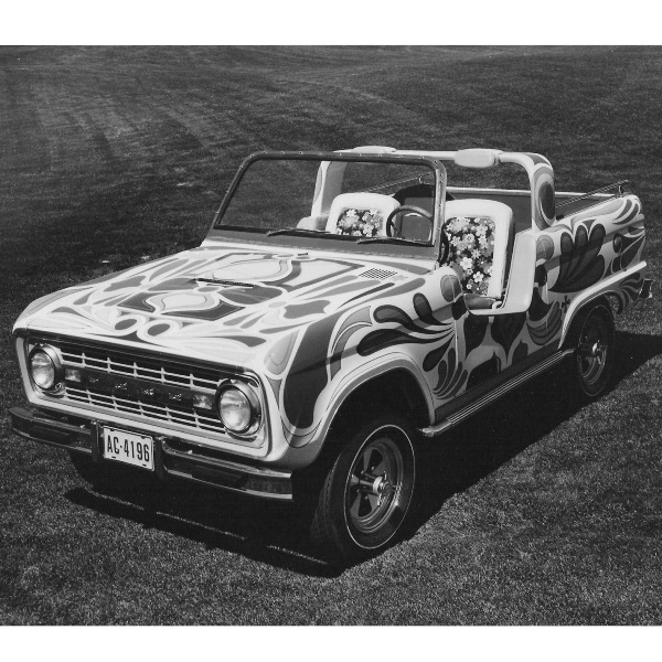Bronco Wildflower Publicity Release 1970-11-6