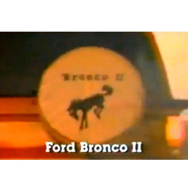 1986 Bronco II TV Commercial