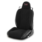 Mastercraft Baja RS Seat w/ Adjustable Headrest Left Black with Black Center & Black Side Panels
