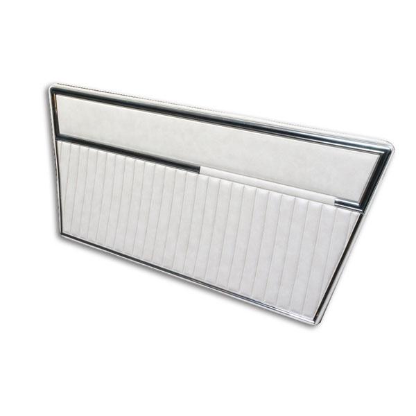 Deluxe Door Panels 68-77 Parchment On Parchment