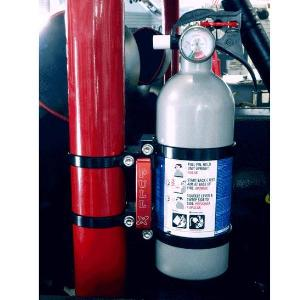 Bronco Fire Extinguisher Clamps Small