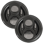 SPEAKER 8700 Evolution 2 LED Headlights Black Finish 7