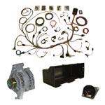 WH Deluxe 66-77 Bronco Rewire Kit with American Autowire Harness
