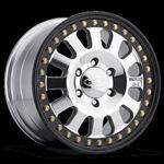 Raceline DC Beadlock Steel Wheel w/ Black Outer Ring