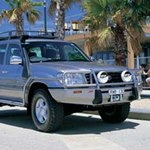 ARB Deluxe Bar Bumper Toyota Land Cruiser 100 Series 1998-02