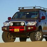 ARB Modular Sahara Bar Bumper Toyota Land Cruiser 200 Series 2007-11