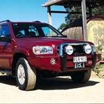 ARB Sahara Bar Bumper Nissan Pathfinder 2000-02