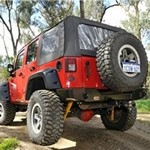 ARB Rear Tire Carrier For Jeep Wrangler JK-TJ-YJ