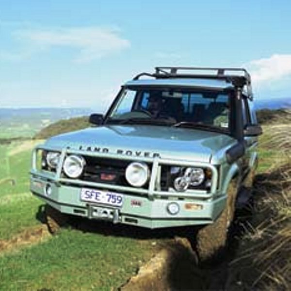 ARB Deluxe Bar Bumper Land Rover Discovery II 2003-04 - WILD HORSES ...