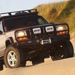 ARB Deluxe Bar Bumper Jeep Cherokee XJ 1997-02