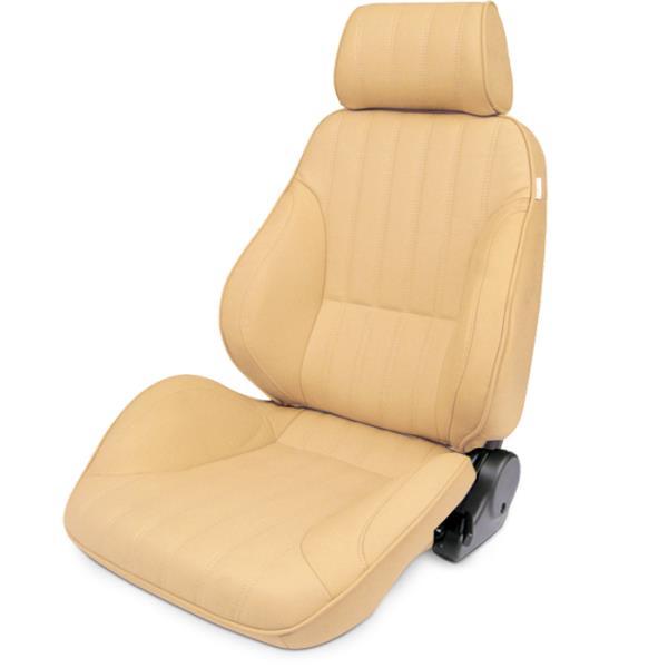 ProCar Rally Seat Beige Vinyl w/ Sliders