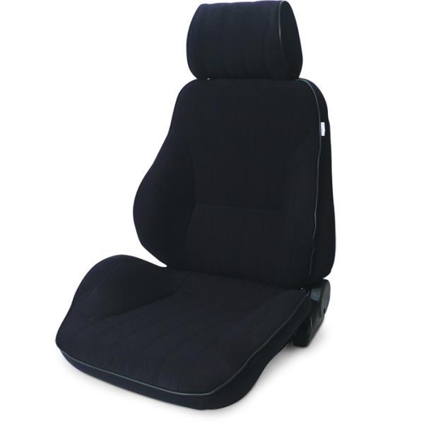 ProCar Rally Seat Black Velour w/ Sliders