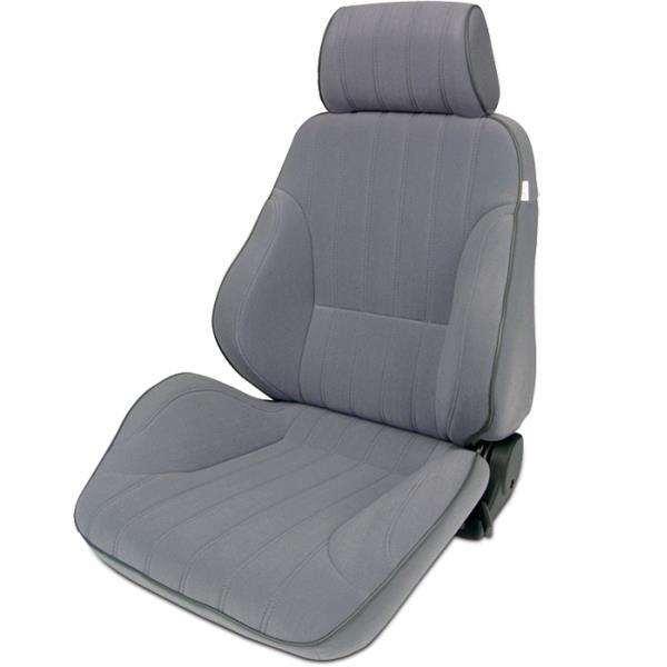 ProCar Rally Seat Grey Velour w/ Sliders