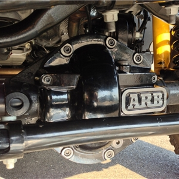 ARB Differential Cover For Dana 44 Axles Black