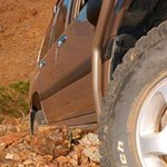 ARB Side Rails Without Flares For Toyota Land Cruiser 100 Series
