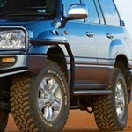 ARB Side Steps With Flares For Toyota Land Cruiser 100 Series