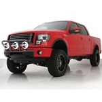 Smittybilt RPD Light Bar Gloss Black 10-11 Ram 2500/ 3500