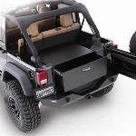 Smittybilt Rear Lockable Storage Box 07-12 Jeep Wrangler JK