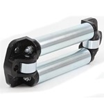 Smittybilt Low Profile 4-Way Roller Fairlead Fits 8k To 15k Winches
