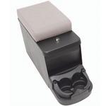 Smittybilt Floor Console w/ Denim Gray Arm Rest 76-95 CJ & YJ Wrangler