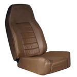 Smittybilt Standard Bucket Jeep Seat Denim Spice 76-12 CJ/YJ/TJ/LJ/JK