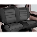 Smittybilt Neo Seat Covers Rear Black/Black 97-02 Wrangler