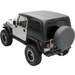 Smittybilt 1-Piece Hardtop w/ Upper Doors 97-06 Jeep Wrangler