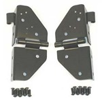 Smittybilt Windshield Hinges Black 76-95 CJ & Wrangler